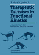 Sampul buku Therapeutic Exercises in Functional Kinetics: Analysis and Instruction of Individually Adaptable Exercises