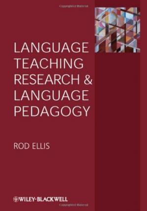 Book cover Language Teaching Research and Language Pedagogy