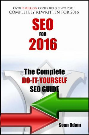 Book cover SEO For 2016 The Complete Do-It-Yourself SEO Guide