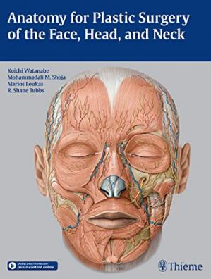 Buchdeckel Anatomy for Plastic Surgery of the Face, Head and Neck