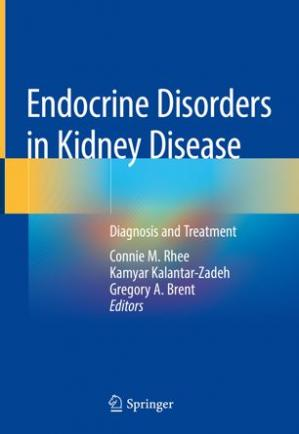A capa do livro Endocrine Disorders in Kidney Disease: Diagnosis and Treatment