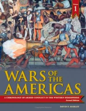 غلاف الكتاب Wars of the Americas: A Chronology of Armed Conflict in the Western Hemisphere, 1492 to the Present