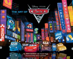 Book cover The art of Cars 2