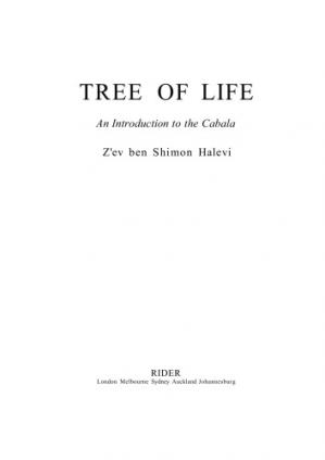Book cover Tree of Life: Introduction to the Kabbalah