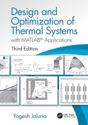 Okładka książki Design And Optimization Of Thermal Systems, With MATLAB® Applications