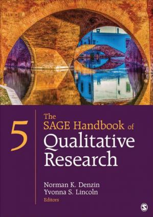 Okładka książki The SAGE Handbook of Qualitative Research