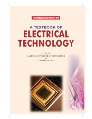 Portada del libro Textbook of Electrical Technology: Pt. 2: AC and DC Machines