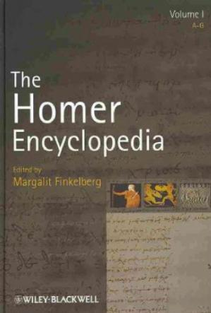 غلاف الكتاب The Homer Encyclopedia (3 vols)