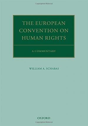 Copertina The European Convention on Human Rights : a commentary