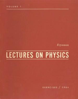 غلاف الكتاب Feynman Lectures on Physics, Vol. 1 Exercises-1964