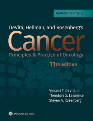 Обложка книги DeVita, Hellman, and Rosenberg's Cancer: Principles and Practice of Oncology
