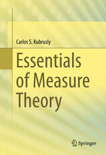 Book cover Essentials of Measure Theory