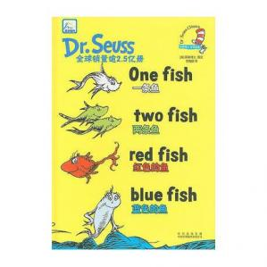 Book cover One Fish, Two Fish, Red Fish, Blue Fish