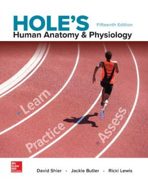 Book cover Hole's human anatomy & physiology