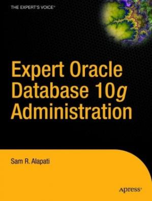 书籍封面 Expert Oracle Database 10g Administration