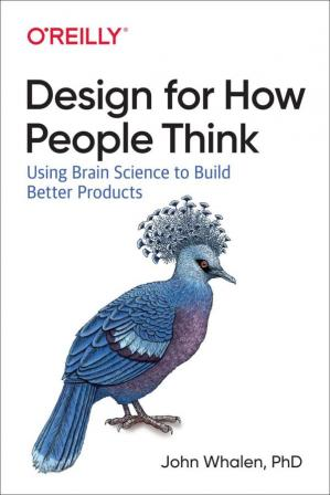 Book cover Design for How People Think: Using Brain Science to Build Better Products