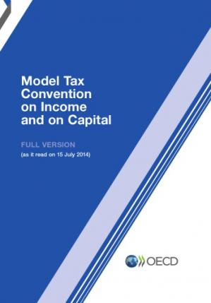 Copertina Model Tax Convention on Income and on Capital 2014 (Full Version).