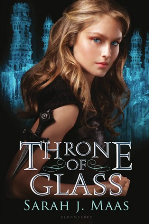 Book cover Throne of Glass