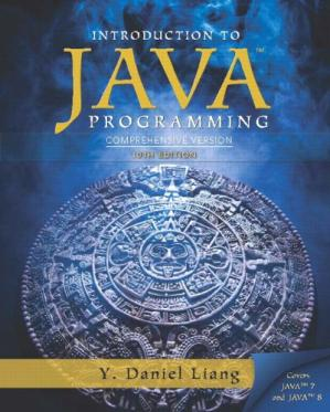 A capa do livro Intro to Java Programming, Comprehensive Version