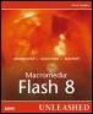 کتاب کی کور جلد Macromedia Flash Professional 8 Unleashed
