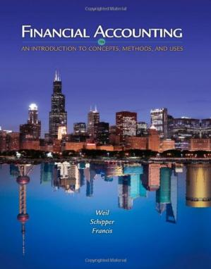 Portada del libro Financial Accounting: An Introduction to Concepts, Methods and Uses