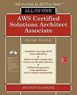 Portada del libro AWS Certified Solutions Architect Associate All-in-One Exam Guide (Exam SAA-C01)