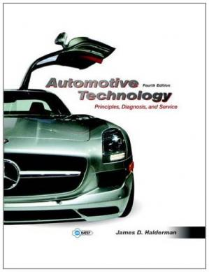 Book cover Automotive Technology: Principles, Diagnosis, and Service (4th Edition)