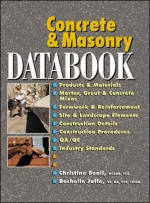Book cover Concrete and Masonry Databook