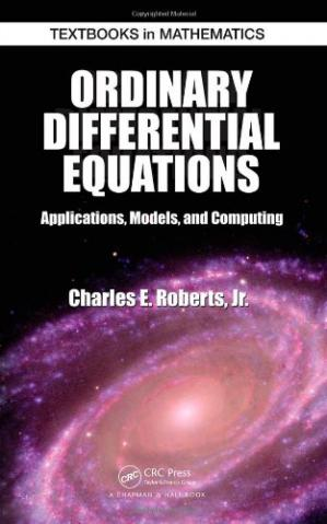 Okładka książki Ordinary Differential Equations: Applications, Models, and Computing