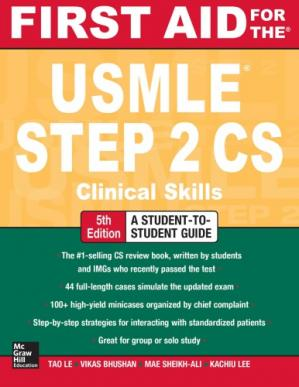 Copertina First Aid for the USMLE Step 2 CS. Clinical Skills