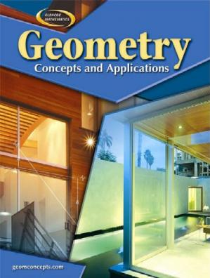 Book cover Geometry: Concepts and Applications, Student Edition (Glencoe Mathematics)