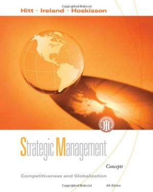 Portada del libro Strategic Management: Competitiveness and Globalization , Eighth Edition (Concepts and Cases)