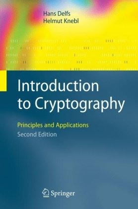 Book cover Introduction to Cryptography: Principles and Applications