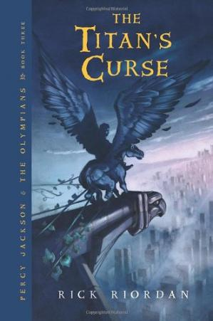 Book cover Percy Jackson & the Olympians 3 - The Titan's Curse
