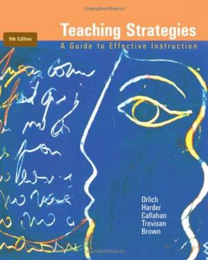 Book cover Teaching Strategies: A Guide to Effective Instruction , Ninth Edition