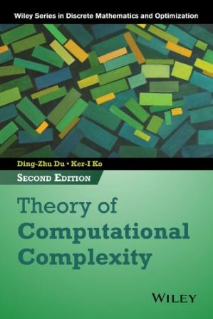 Book cover Theory of Computational Complexity