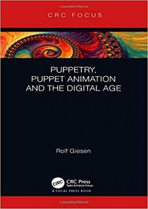 A capa do livro Puppetry, Puppet Animation and the Digital Age
