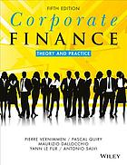 Okładka książki Corporate Finance: Theory and Practice