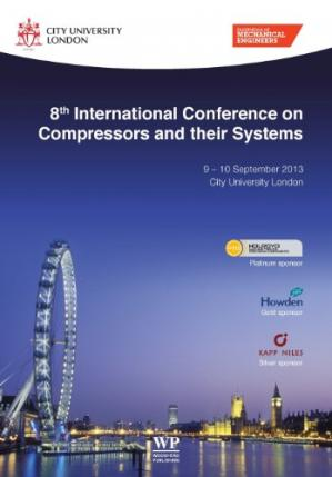 पुस्तक कवर 8th International Conference on Compressors and their Systems: 9-10 September 2013, City University London