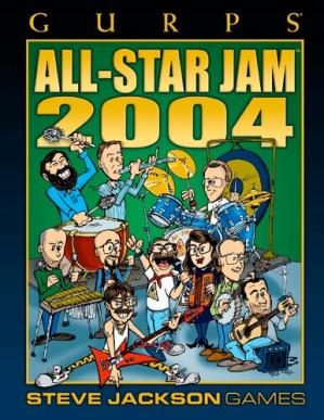 Book cover GURPS Classic: All-Star Jam 2004