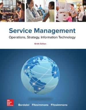 Book cover Service Management: Operations, Strategy, Information Technology