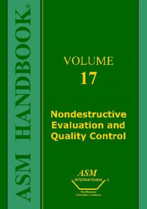 Copertina ASM Handbook. Nondestructive Evaluation and Quality Control