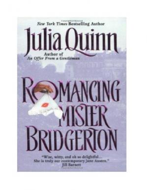Book cover Romancing Mr. Bridgerton (Bridgerton, Book 4)