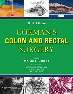 A capa do livro Corman's Colon and Rectal Surgery