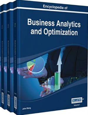 पुस्तक कवर Encyclopedia of Business Analytics and Optimization