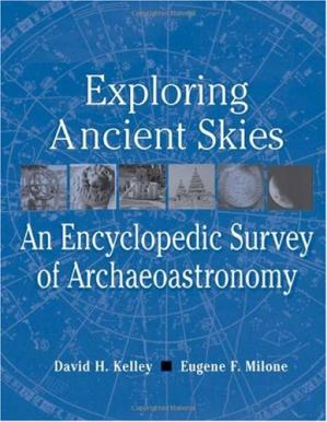 ปกหนังสือ Exploring Ancient Skies: An Encyclopedic Survey of Archaeoastronomy