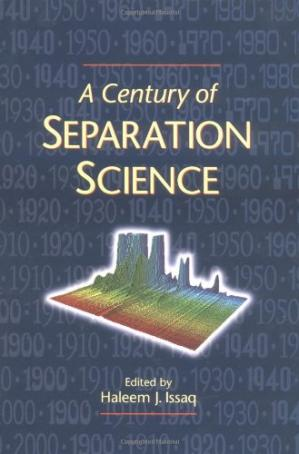 पुस्तक कवर A Century of Separation Science
