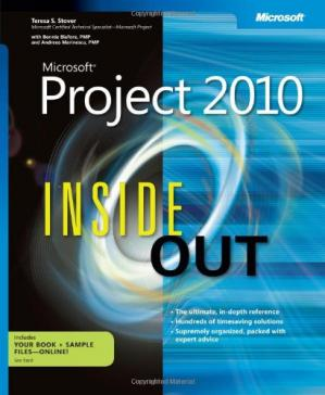 Book cover Microsoft Project 2010 Inside Out