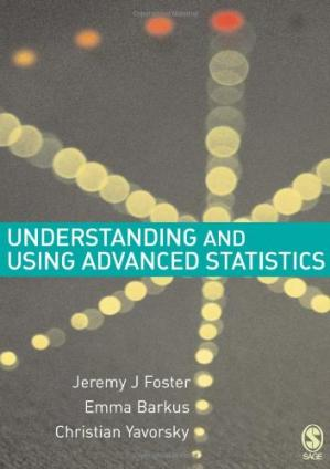 Book cover Understanding and Using Advanced Statistics