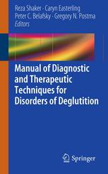 Copertina Manual of Diagnostic and Therapeutic Techniques for Disorders of Deglutition